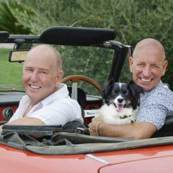 Bob and Ian in Italy
